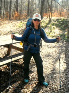 Mrs. Dirty sporting her Merrell Pace Gloves