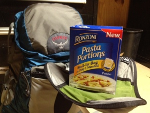 Boil in a Bag single serving of Rotini or Penne