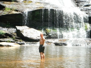 Mr. Dirty at Panther Creek Falls