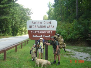 Summer 2004 - Panther Creek