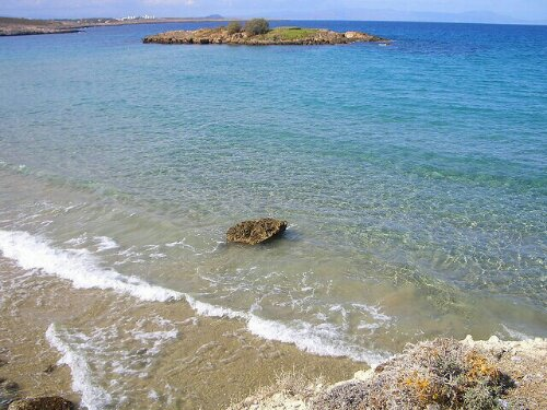 Kalathas Beach, Crete, Greece
