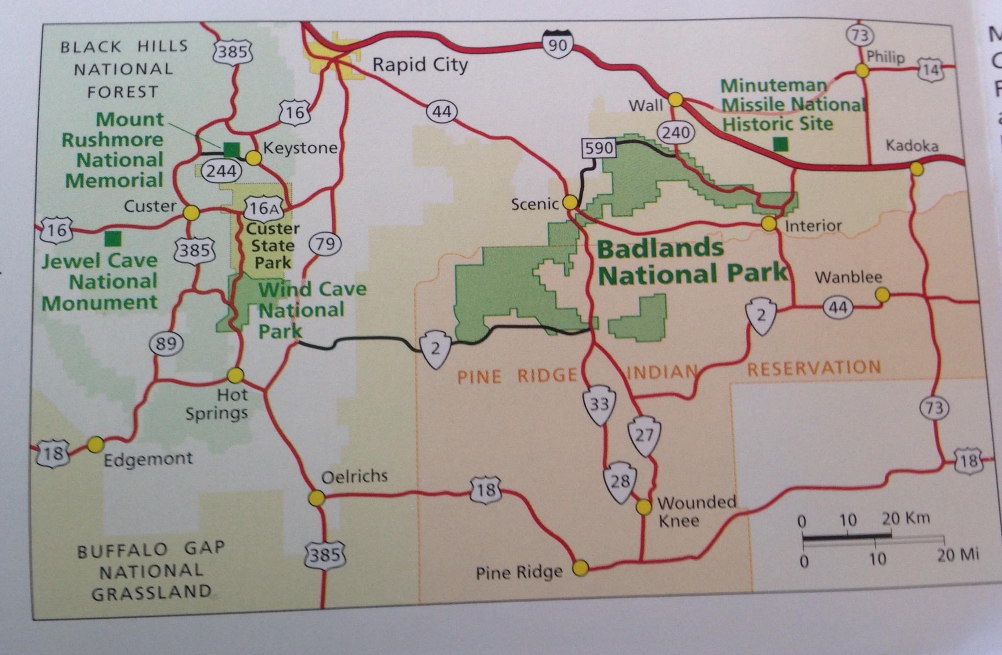 Badlands National Park thedirtyduo